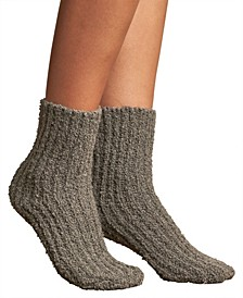 Two Color Boucle Boot Sock