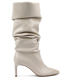 Women's Marlo Wide Calf Slouch To The Knee Boot