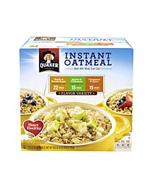 Oatmeal Flavor Variety Box, 52 Count