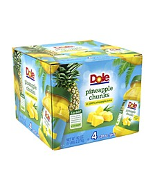 Pineapple Chunks in Juice, 20 oz, 4 Count