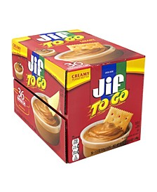 to Go Peanut Butter Dipping Cups, 36 Count