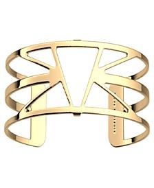 Triangular Openwork Adjustable Cuff Ibiza Bracelet, 25mm, 1.0in