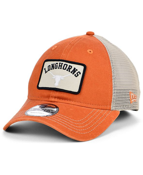 New Era Texas Longhorns Patch Trucker 9FORTY Cap