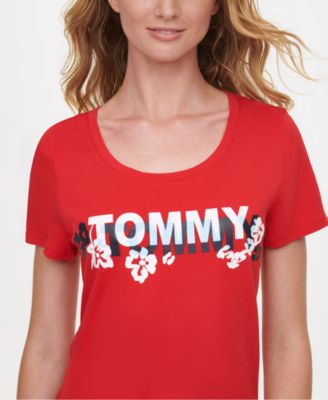 Cotton Floral Logo T-Shirt, Created for Macy's