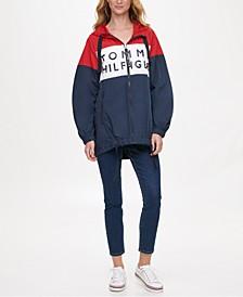 Colorblocked Windbreaker Jacket, Created for Macy's