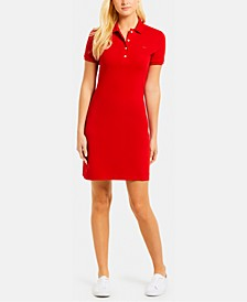 Slim-Fit Stretch Piqué Polo Dress