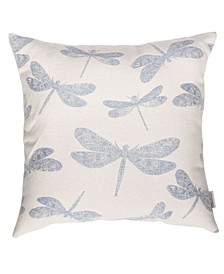 """Dragonfly 22"""" x 22"""" Outdoor Decorative Pillow"""
