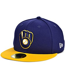 Milwaukee Brewers Plate Patch 59FIFTY Cap