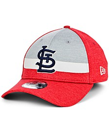 St. Louis Cardinals Youth Striped Shadow Tech 39THIRTY Cap