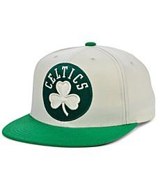 Boston Celtics Natural XL Snapback Cap