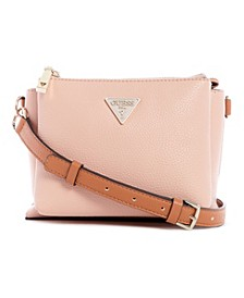 Becca Double Zip Crossbody