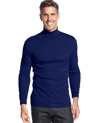 John ashford long sleeve mock neck solid interlock shirt for Mens mock turtleneck shirts sale