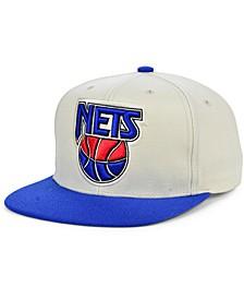 New Jersey Nets Natural XL Snapback Cap
