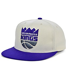 Sacramento Kings Natural XL Snapback Cap