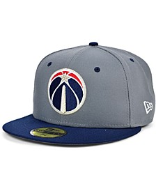 Men's Washington Wizards Storm 2 Team Color 59FIFTY-FITTED Cap