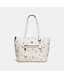 Taylor Tote With Wildflower Print