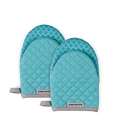 """Asteroid Oven Mitts, 5.5""""x 8"""", Set of 2"""