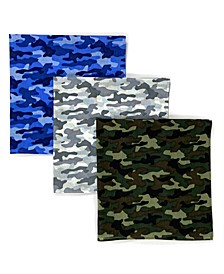 Unisex Bandana Camo, Pack of 3