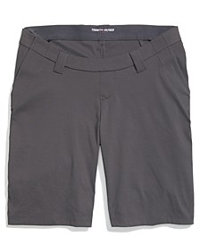 Men's Seated-Fit Chino Performance Shorts with Velcro® Closures