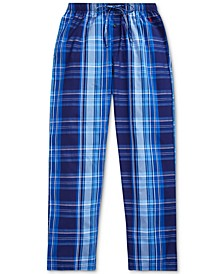 Men's Classic Plaid Woven Pajama Pants