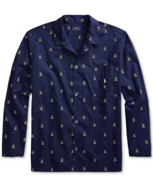 Polo Ralph Lauren Men's Woven Printed Pajama Top