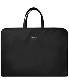 Receive a Free Weekender Bag with any large spray purchase from the Hugo Boss Men's Boss Bottled Fragrance Collection