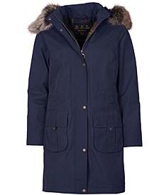 Lynn Waterproof Hooded Parka Coat