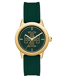 Women's Gigi Green Silicone Strap Watch 36mm