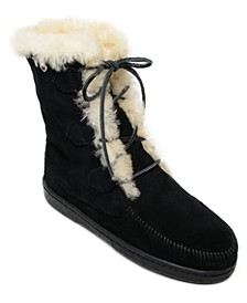Women's Juniper Sheepskin Lace-Up Boots