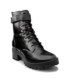 Oodles Combat Boot