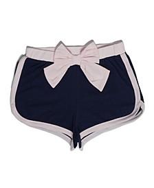 Little Girls Knit Short