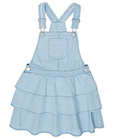 Little Girls Denim Tier Skirtall