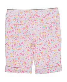 Little Girls Confetti Bermuda Short