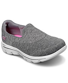Women's GOwalk Evolution Ultra - Amazed Slip-on Wide Width Walking Sneakers from Finish Line