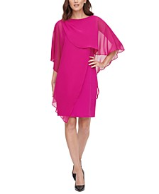 Overlay Sheath Dress