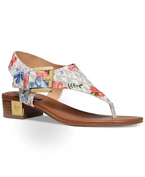 Michael Kors London T-Strap City Sandals