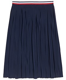 Women's Pleated Skirt with Adjustable Waist
