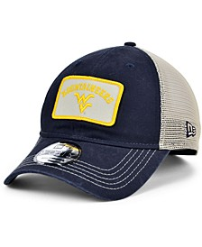 West Virginia Mountaineers Patch Trucker 9FORTY Cap