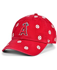 Los Angeles Angels Women's Confetti Adjustable Cap