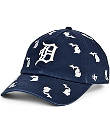 Detroit Tigers Women's Confetti Adjustable Cap