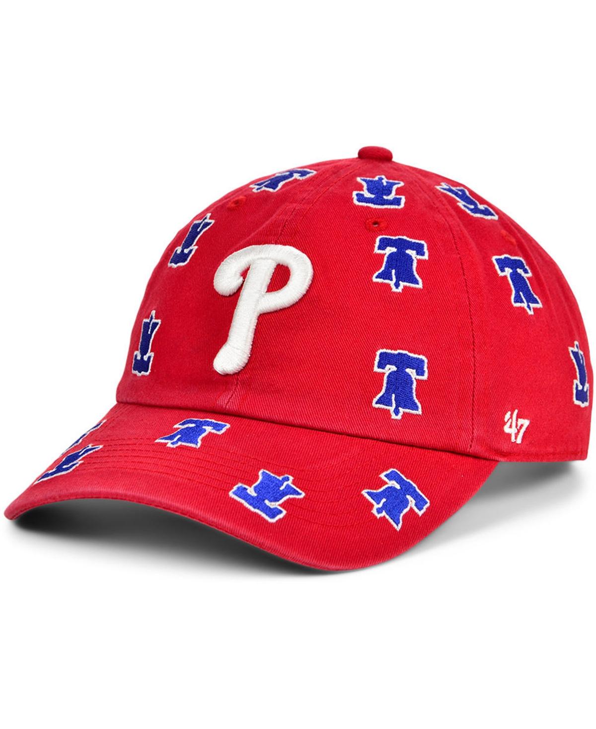 47 Brand Philadelphia Phillies Womens Confetti Adjustable Cap