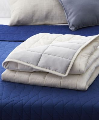 """Center Yourself Dual-Sided 48"""" x 72"""" Weighted Blanket, 15 lbs"""