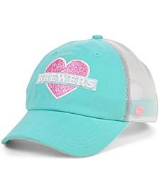Girls Milwaukee Brewers Mermaid Heart MVP Cap