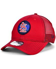 St. Louis Cardinals Logo Fill Trucker 9FORTY Cap
