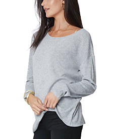 NYDJ Boat-Neck Sweater