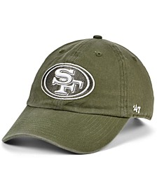 San Francisco 49ers Basic Fashion Clean Up Cap