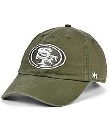 San Francisco 49ers Basic Fashion Clean Up Cap