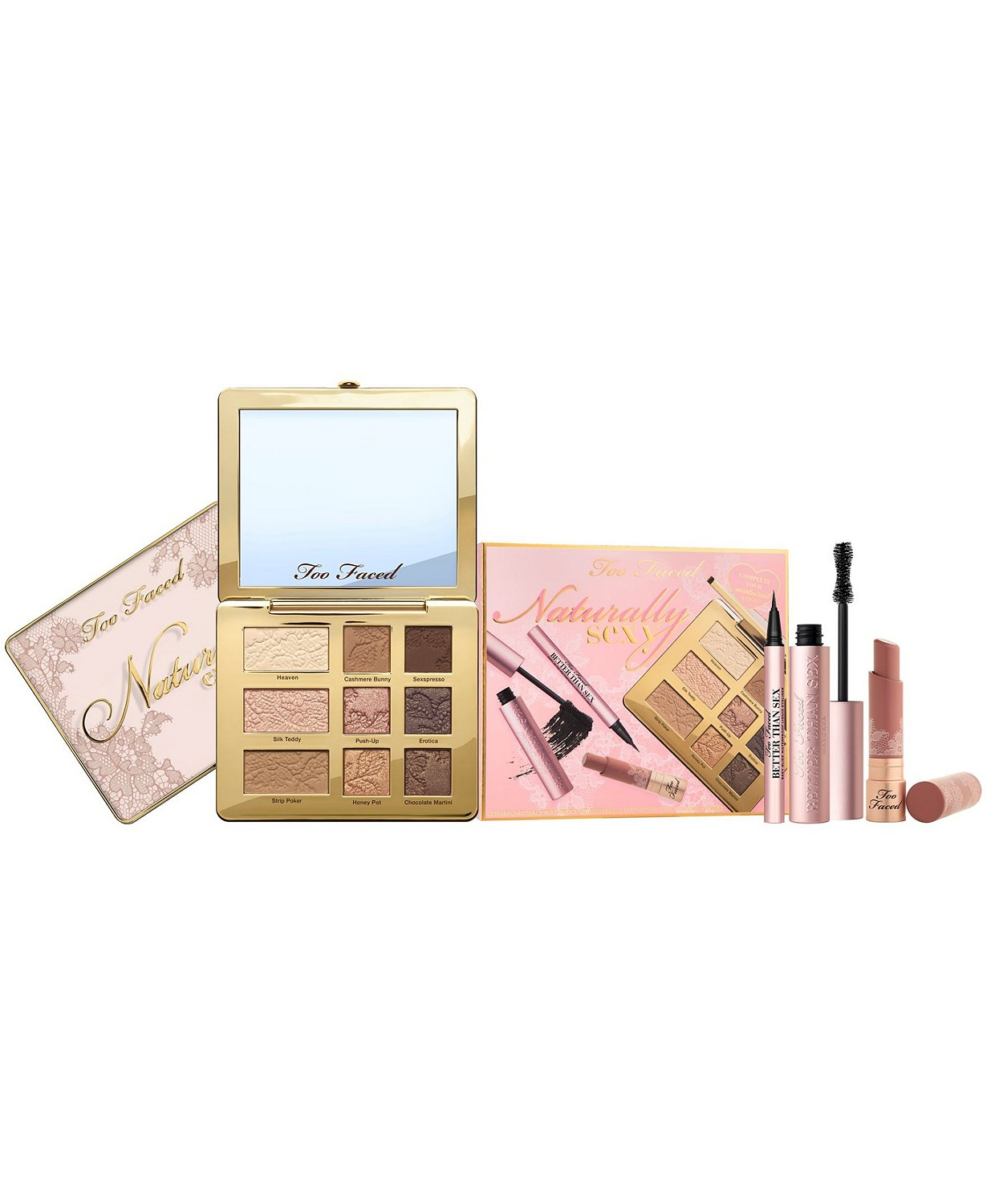 Too Faced Naturally Sexy Eye & Lipstick Set