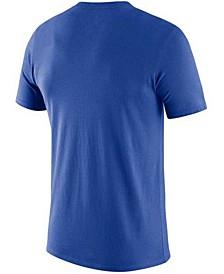 Men's Kentucky Wildcats Dri-Fit Cotton Baseball Plate T-Shirt