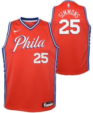 Nike Kids' Ben Simmons Philadelphia 76ers Statement Swingman Jersey